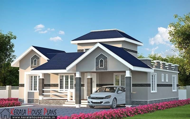 Best Three Bedroom Kerala Model House Elevation Kerla Homes With Pictures