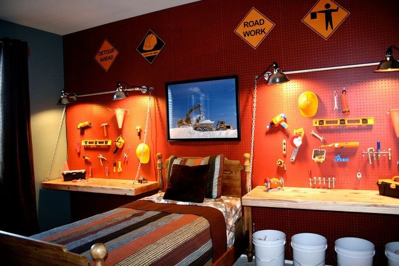 Best Boys Construction Bedroom Decorating Ideas Inhabit With Pictures