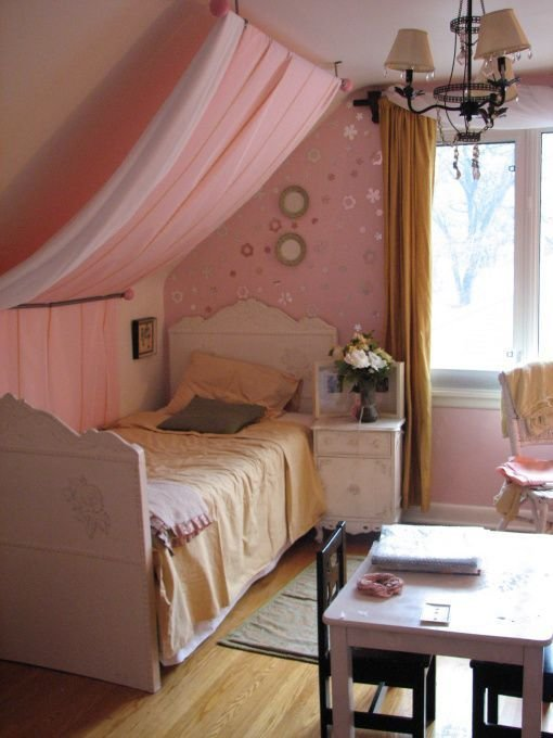 Best I Love This Idea Since My Girls Share A Bedroom W Slanted With Pictures