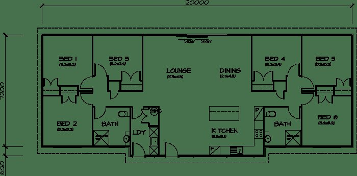 Best Plb153 Six Bedroom Transportable Homes House Plan Dream With Pictures