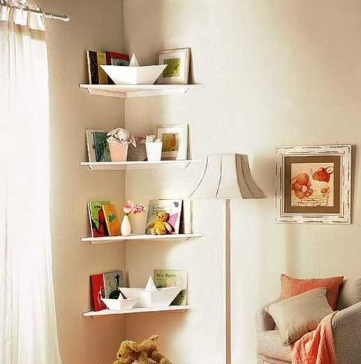 Best Corner Shelf Ideas For Small Bedroom Storage Solution With Pictures