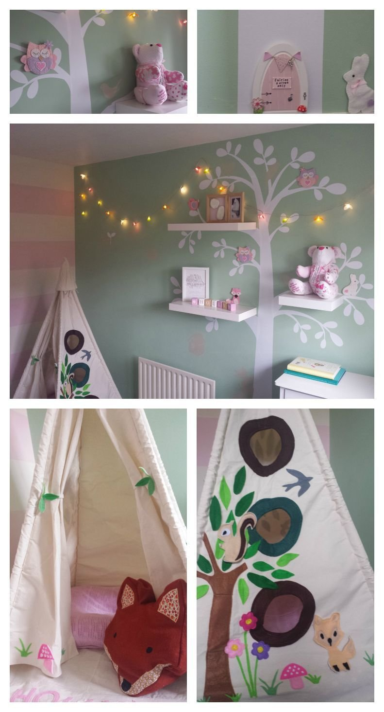 Best This Is My Little Girls Woodland Forest Themed Nursery With Pictures