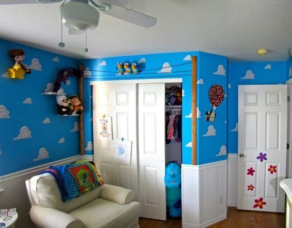 Best Pixar Themed Nursery For Our First Baby We Wanted To With Pictures