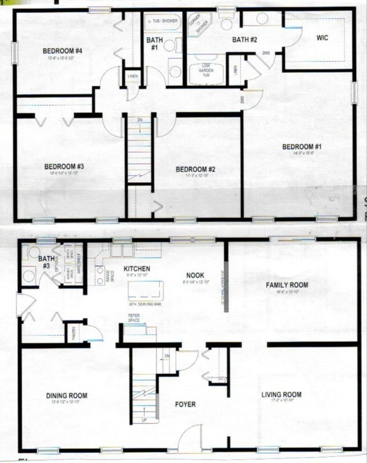 Best Marvelous House Plans Two Story Home Decor Two Story With Pictures