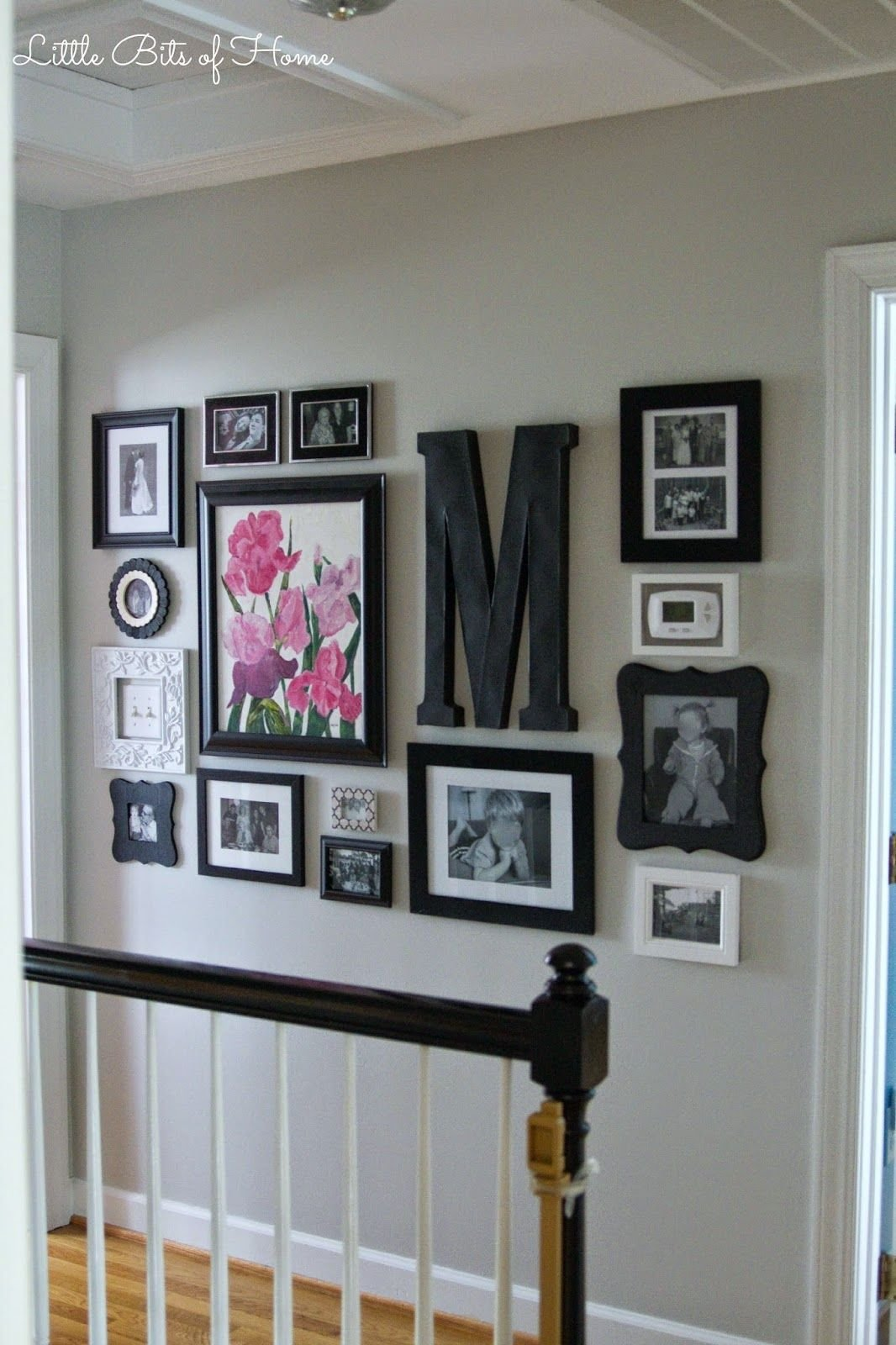 Best Little Bits Of Home Hallway Gallery Wall Gallery Walls With Pictures