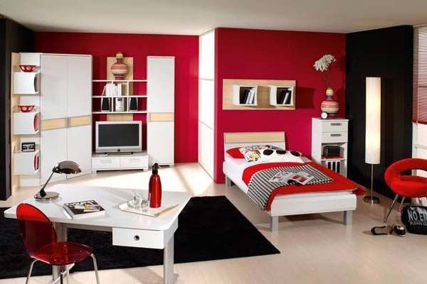 Best Bedroom Ideas For Teenage Girls Red Nice With Photos Of With Pictures