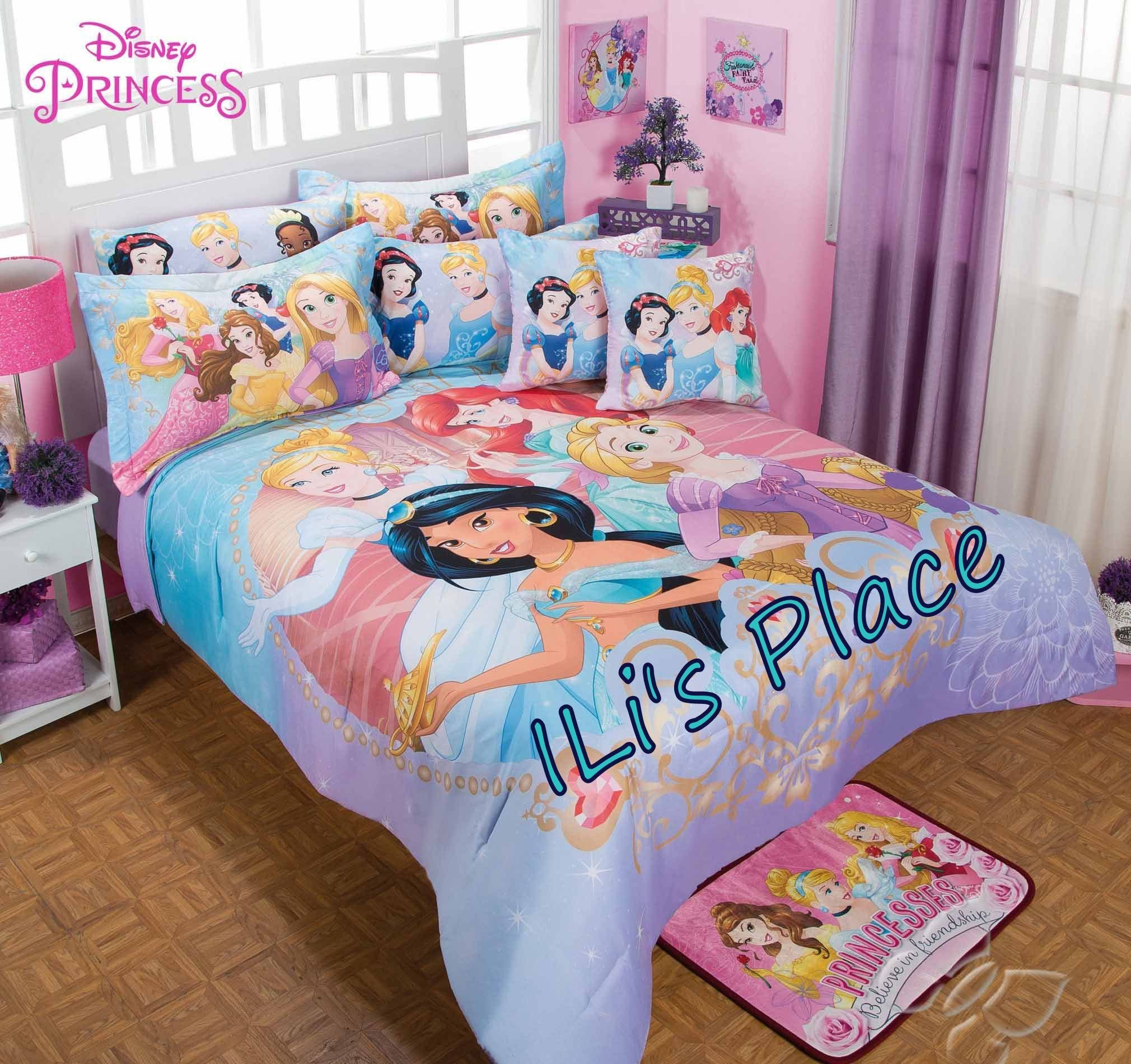 Best Girls Disney Princess Comforter Set Order Before We Sell With Pictures
