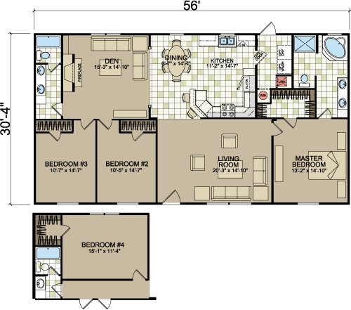 Best Layouts Of Doublewides From Freedom Homes Champion Homes With Pictures