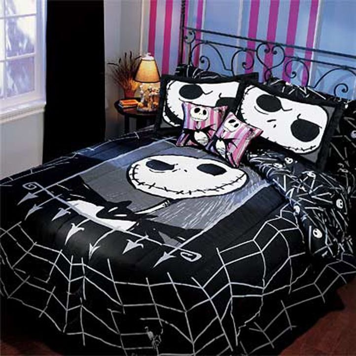 Best Very Rare Nightmare Before Christmas Twin Comforter With Pictures