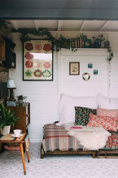 Best A Rustic Bohemian Garden Shed Studio Loft Apartments Home Decor Home Rustic Gardens With Pictures