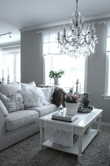 Best I Have Fallen In Love With Grey Walls Chandelier And With Pictures