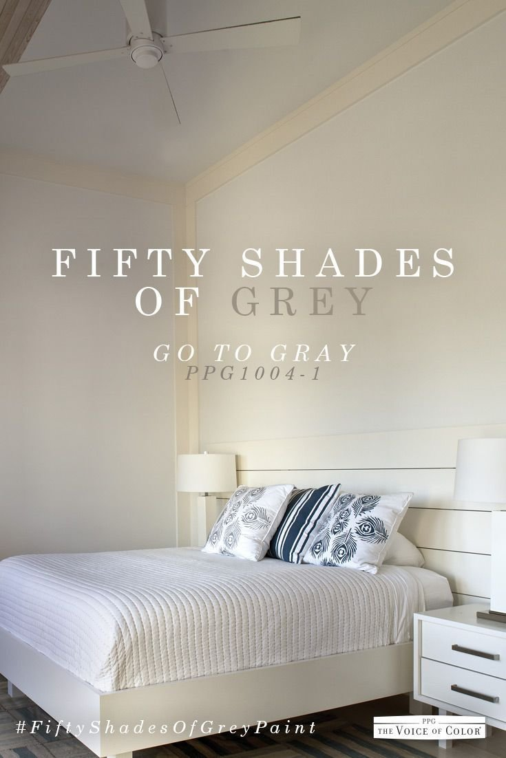 Best Pin By Ppg On 50 Shades Of Grey Paint Paint Colors Grey With Pictures
