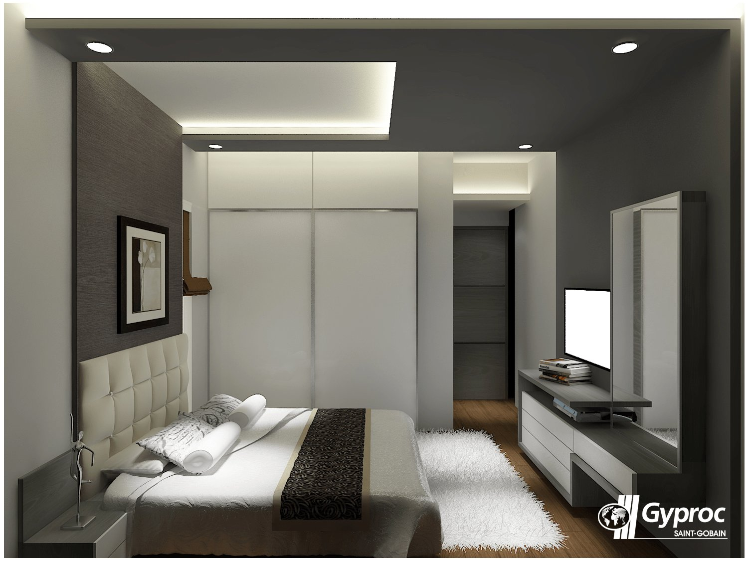 Best Let The Shades Of Gray Make Your Luxurious Bedroom Stand With Pictures