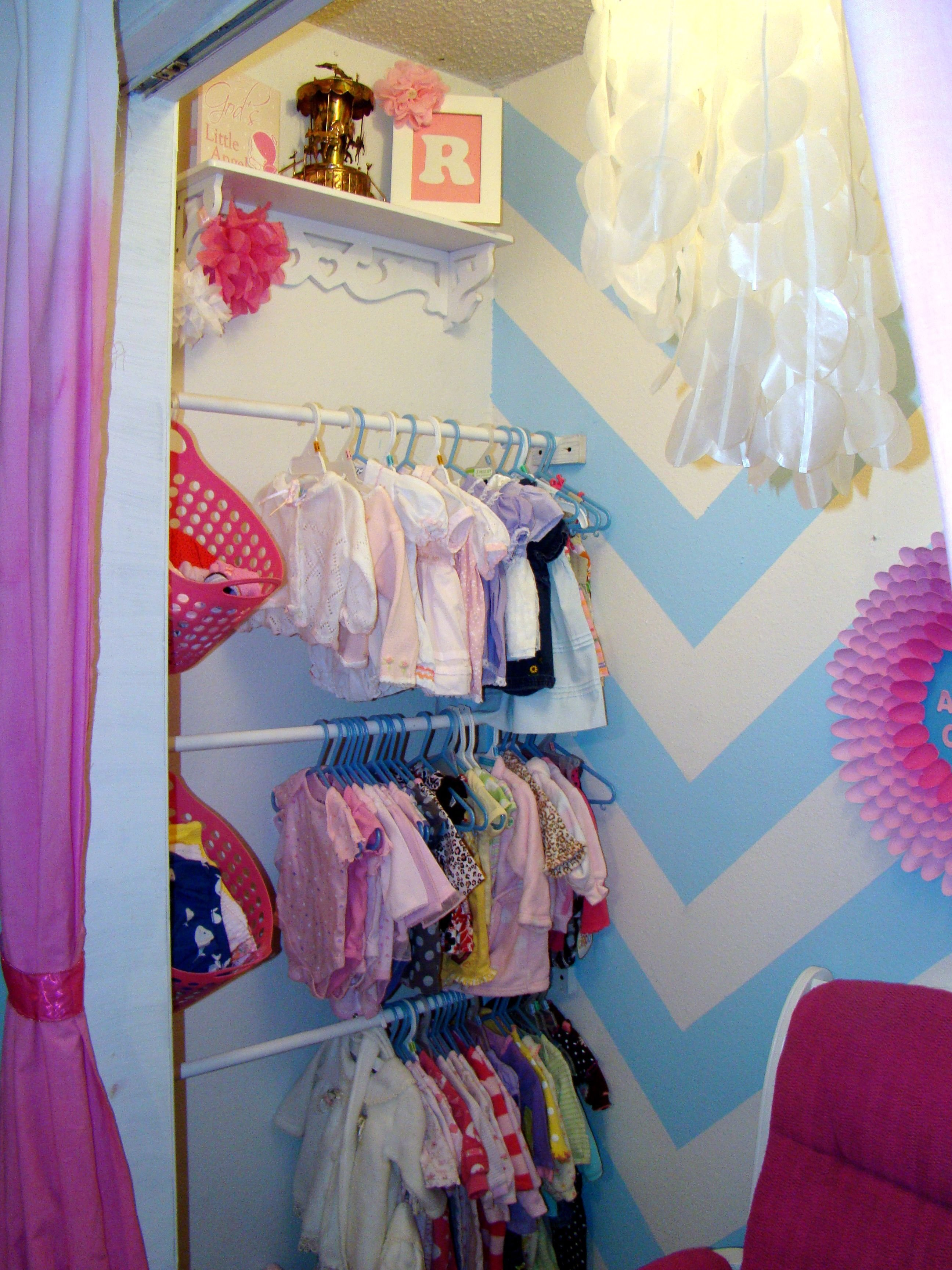 Best Diy Toddler Girl Bedroom Diy Nursery Closet This Would With Pictures