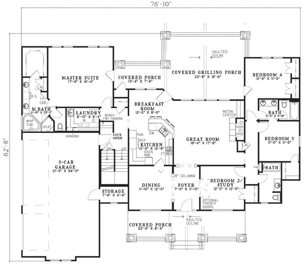 Best Craftsman Style House Plans 4693 Square Foot Home 1 With Pictures