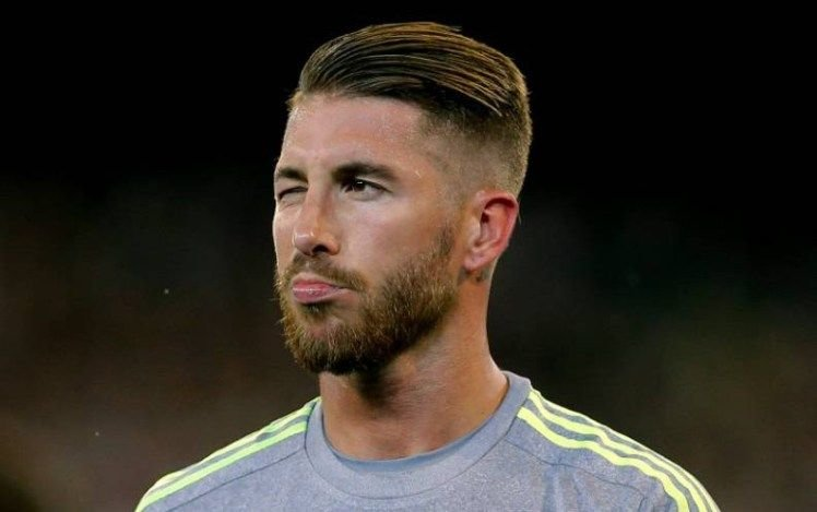 Free Sergio Ramos New Hairstyle Sergio Ramos Hairstyle Wallpaper