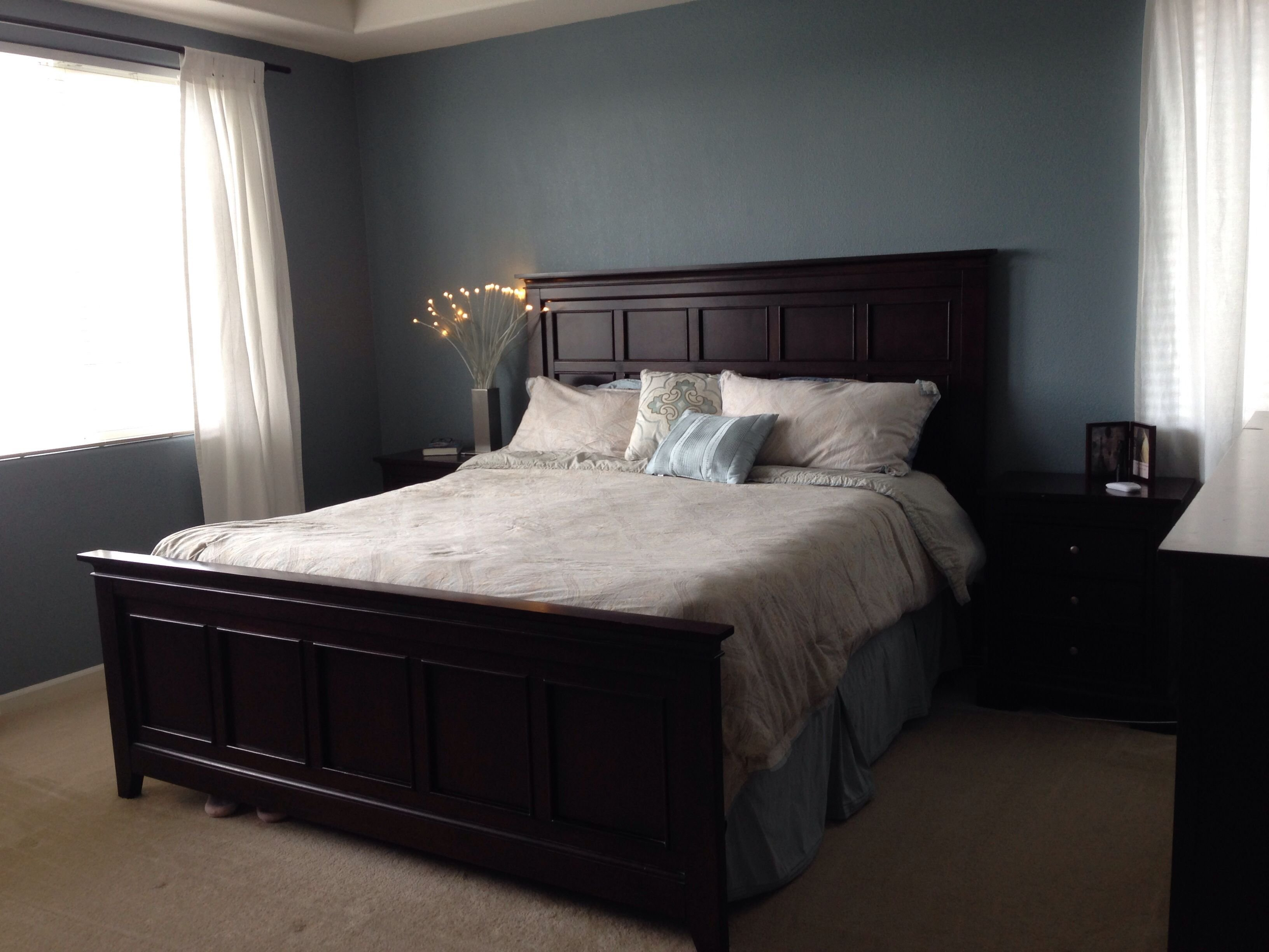 Best Valspar Blue Twilight Just Painted Our Room And I Love With Pictures