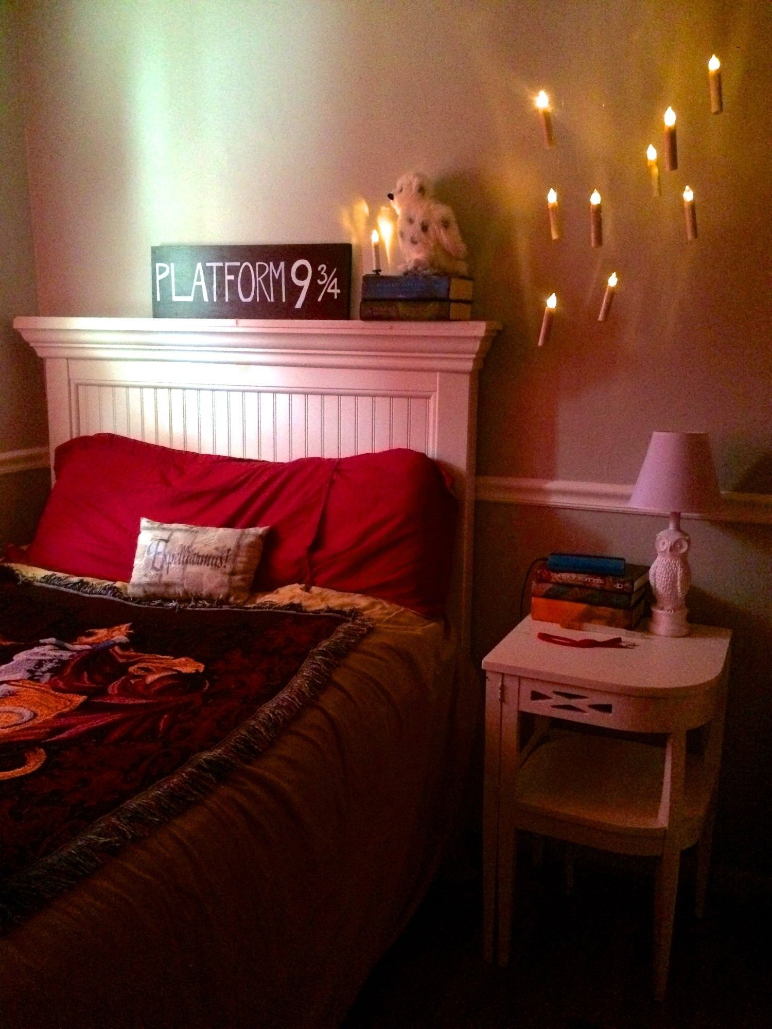 Best Floating Candles For The Harry Potter Bedroom Kid Stuff With Pictures