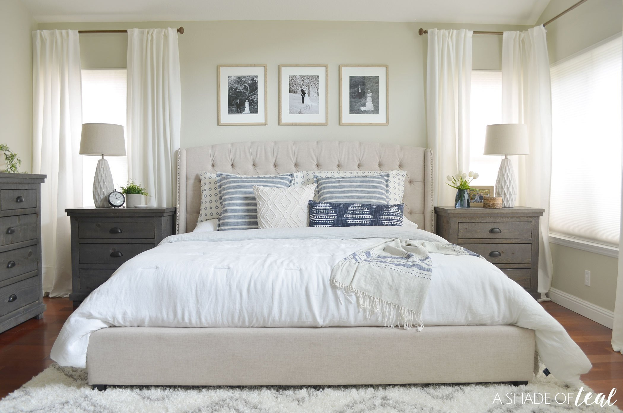 Best Rustic Chic Master Bedroom Orc The Reveal With Pictures