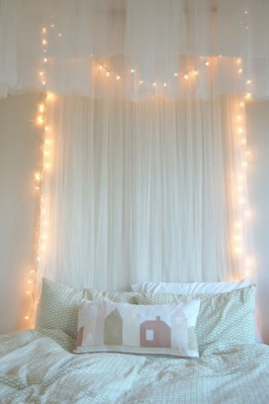 Best Curtain Fairy Lights Bedroom – Decoredo With Pictures