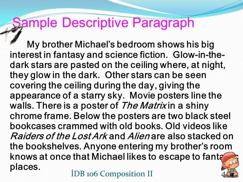 Best Bedroom Description Paragraph Www Indiepedia Org With Pictures