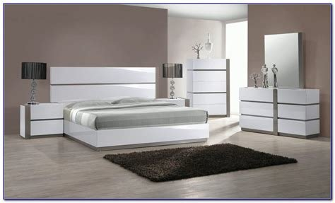 Best White High Gloss Bedroom Set With Pictures