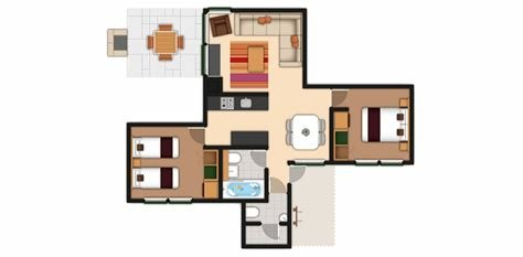 Best Center Parcs 3 Bedroom Woodland Lodge Floor Plan With Pictures