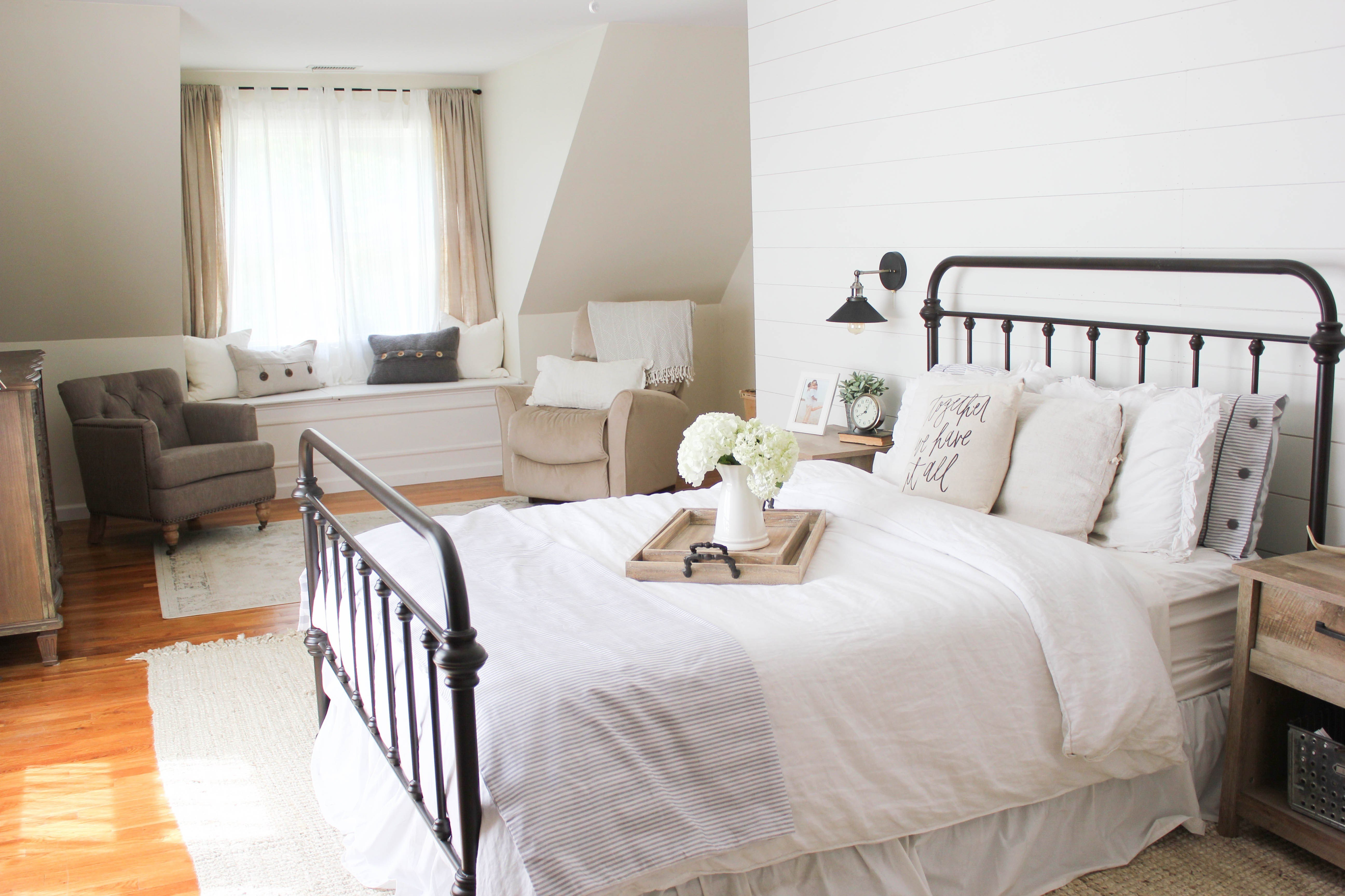 Best Home Farmhouse Master Bedroom Lauren Mcbride With Pictures
