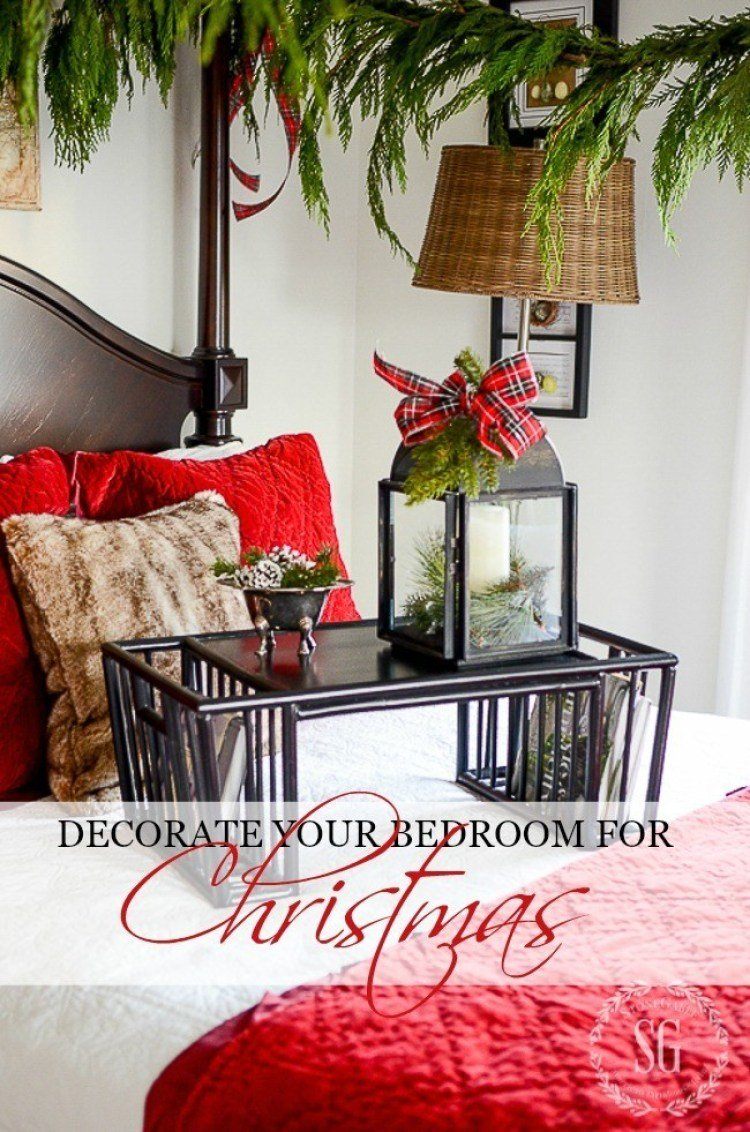 Best Decorate Your Bedrooms For Christmas Stonegable With Pictures