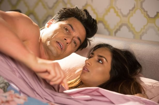 Best Eastenders Fans Embarrassed By Adam And Habiba S Steamy With Pictures