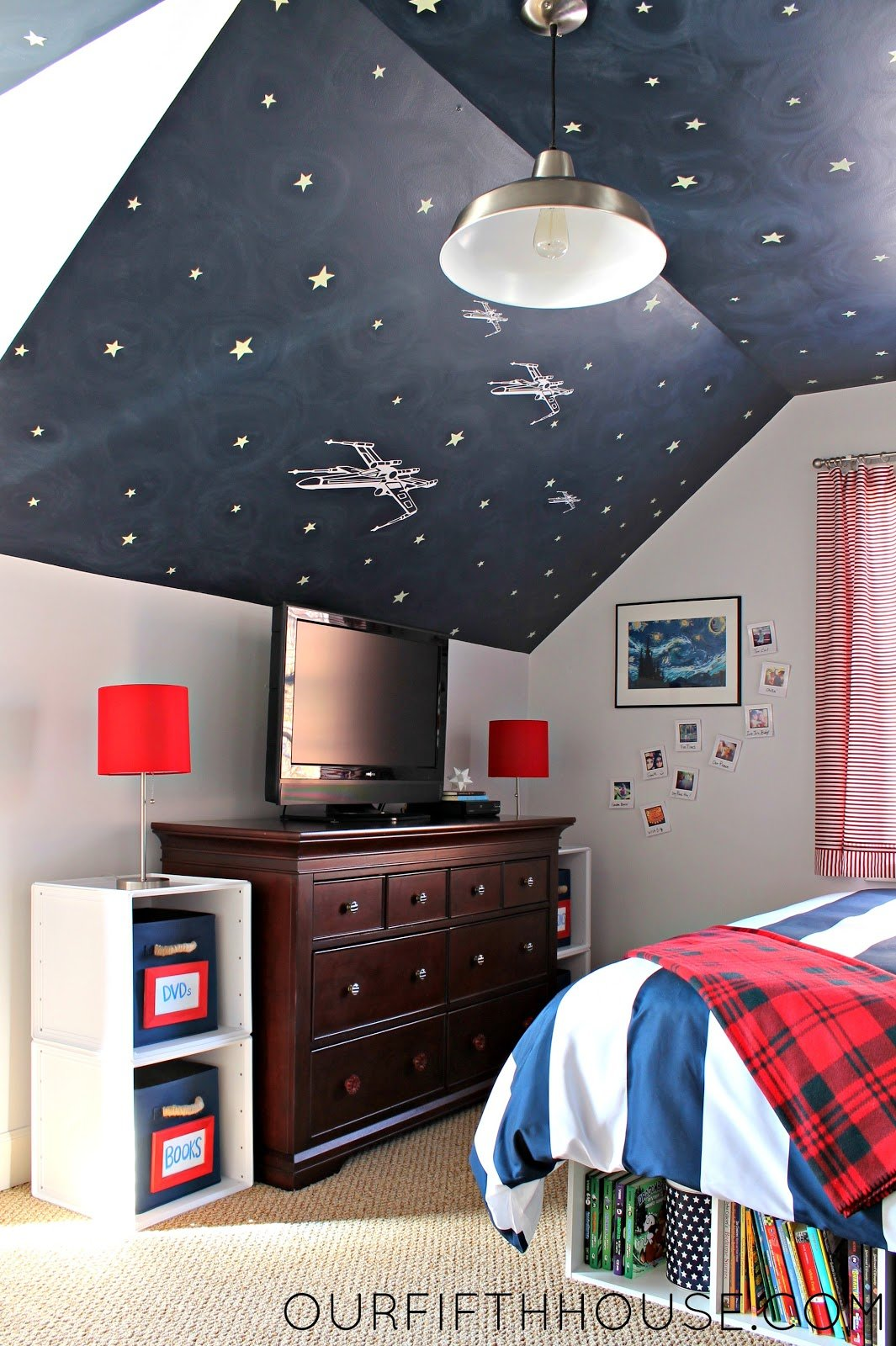 Best My Star Wars Loving Boy S Bedroom Our Fifth House With Pictures