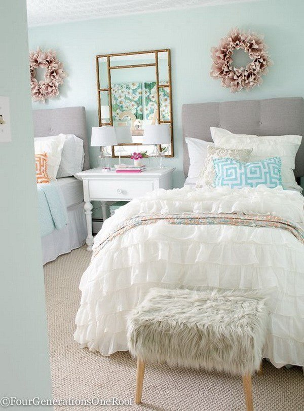 Best 40 Beautiful Teenage Girls Bedroom Designs For Creative Juice With Pictures