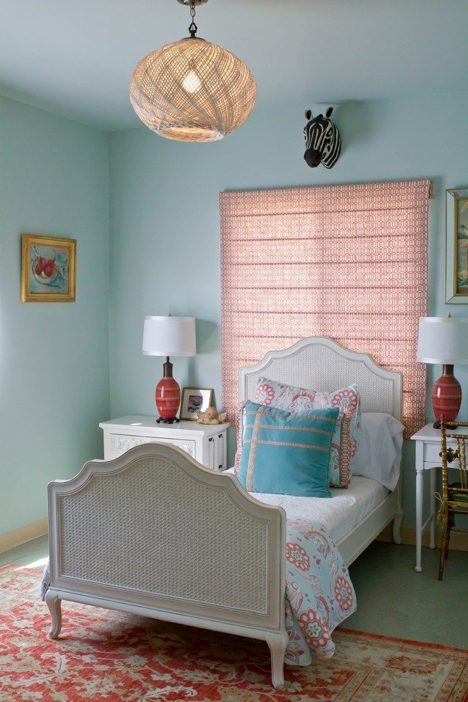 Best Elegant Coral And Beige Bedding Vogue Los Angeles With Pictures