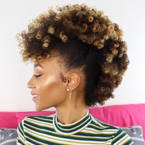 Free 30 Best Natural Hairstyles For African American Women Wallpaper