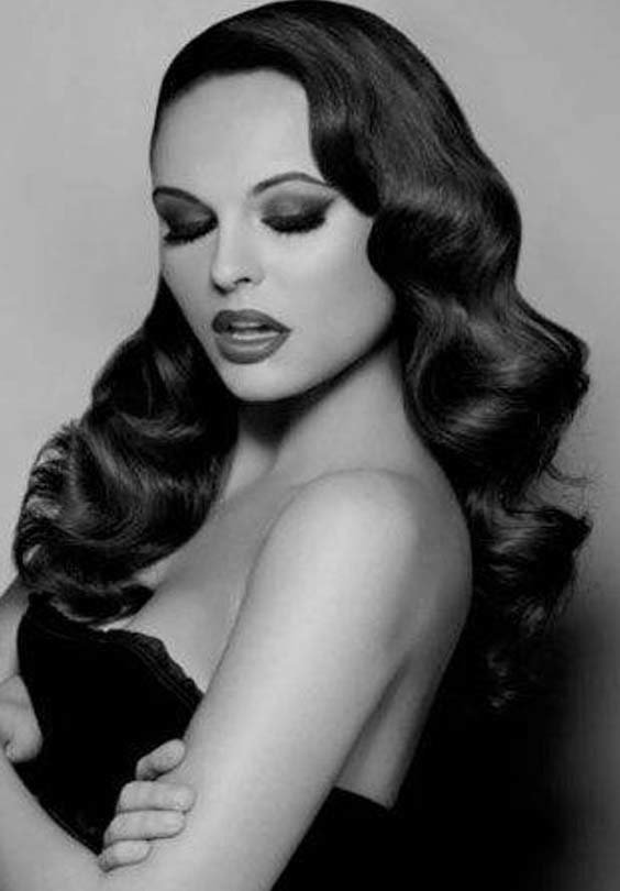 Free 1950S Hairstyles For Long Hair Best Long Haircuts For Wallpaper