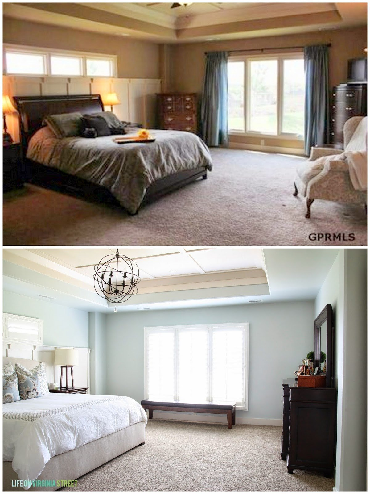 Best Sherwin Williams Sea Salt Master Bedroom Life On With Pictures