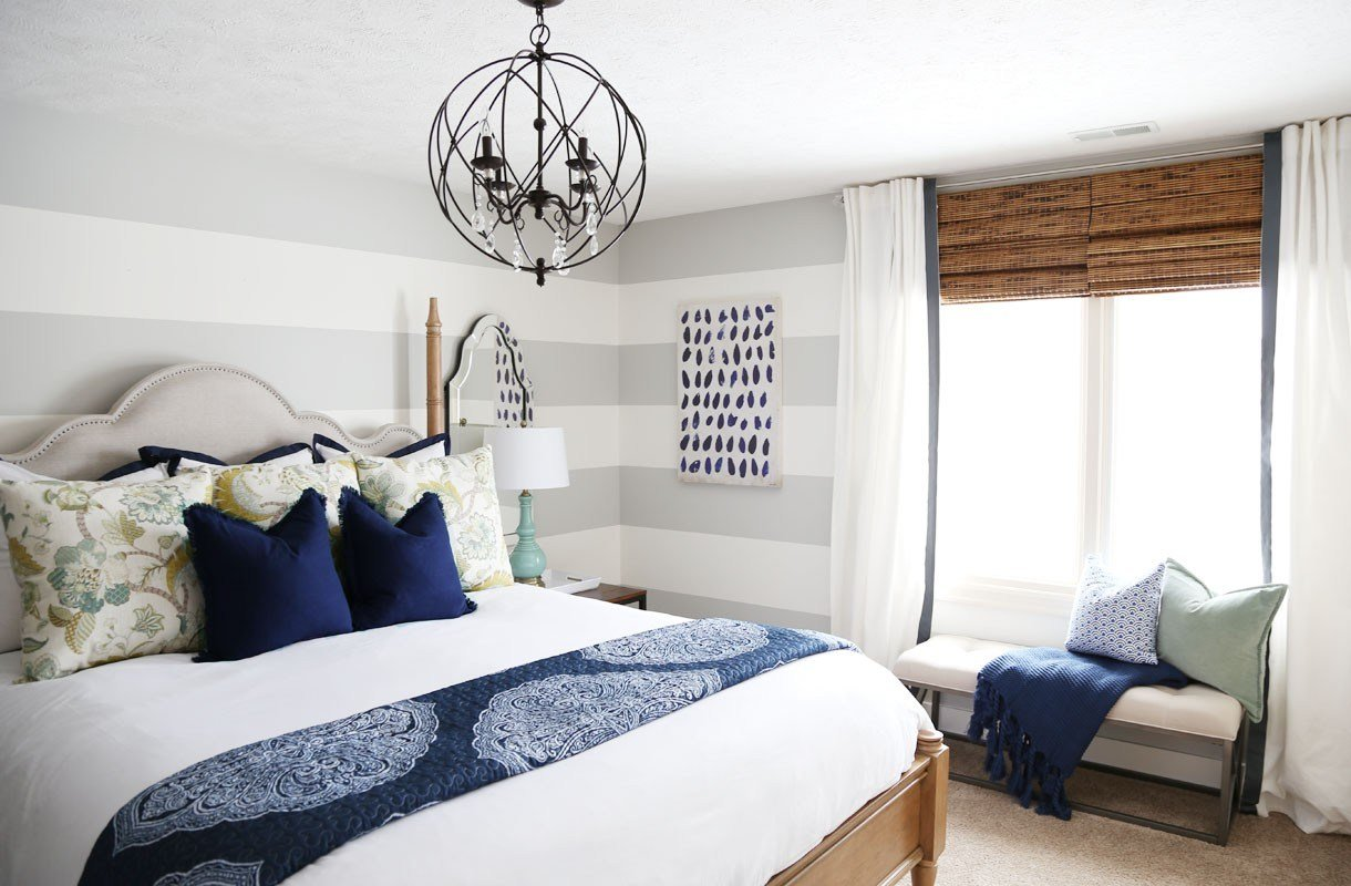 Best Serene Blue Guest Bedroom Makeover Reveal Life On With Pictures