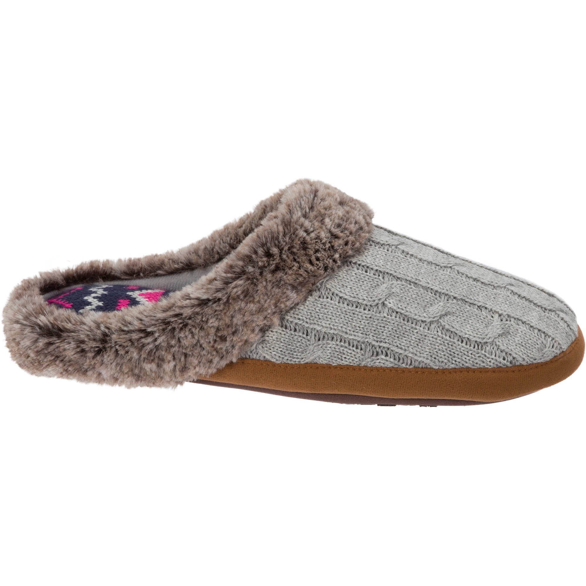 Best Df By Dearfoams Women S Velour Clog Slipper Shoes With Pictures
