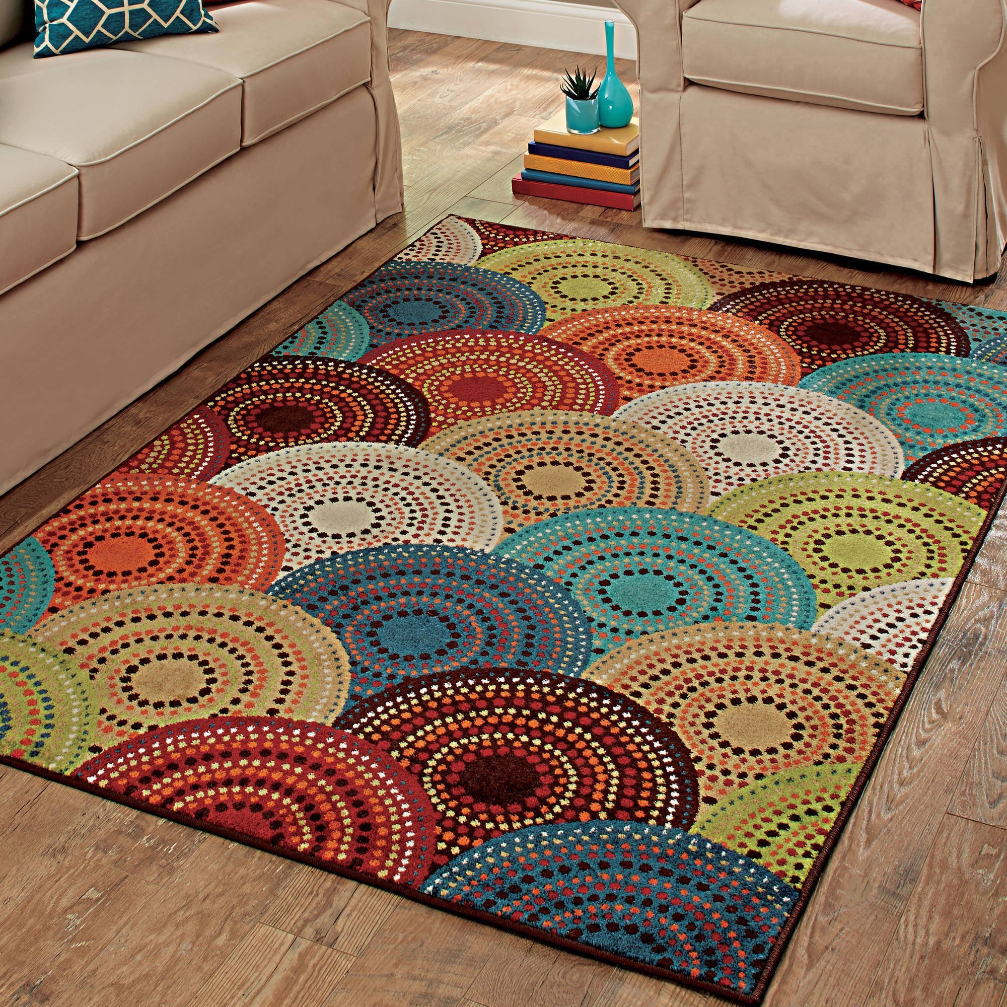 Best Mainstays Sheridan Ogee Area Rugs Or Runner Walmart Com With Pictures