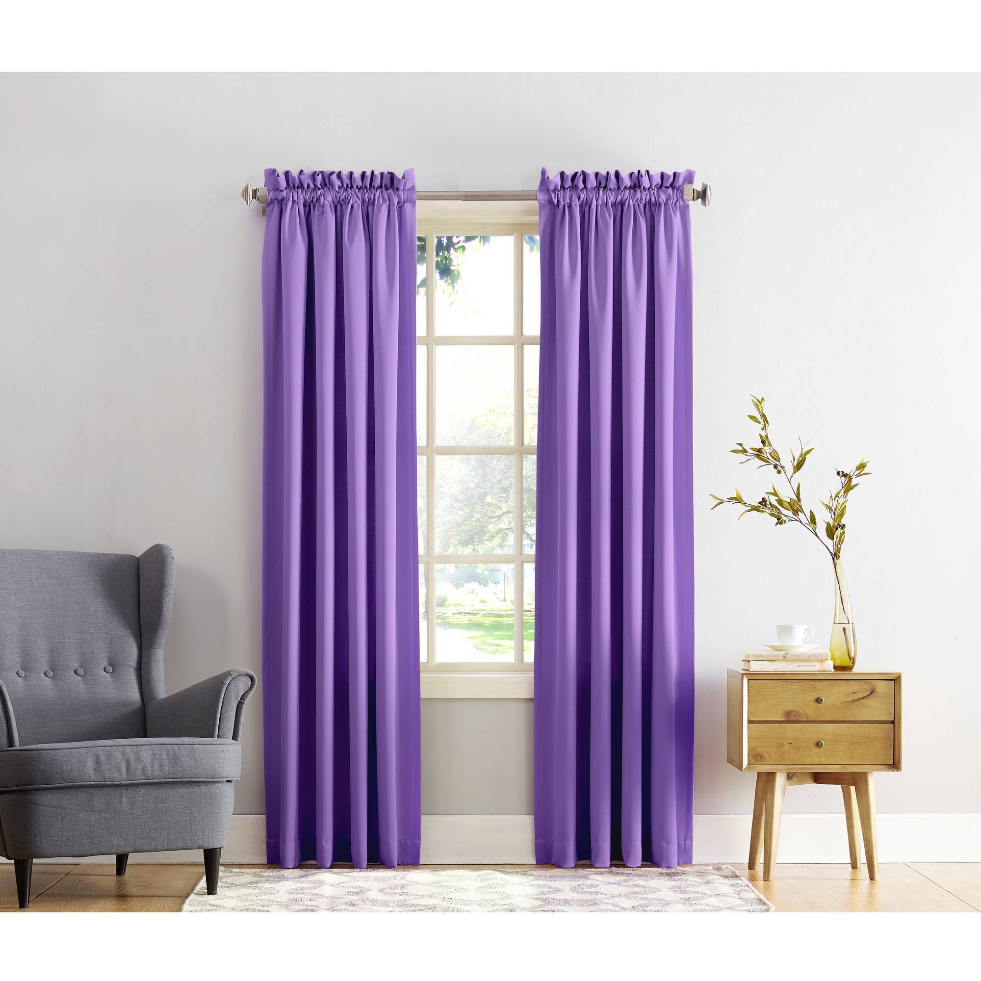 Best Mainstays Calix Fashion Window Curtain Set Of 2 Walmart Com With Pictures