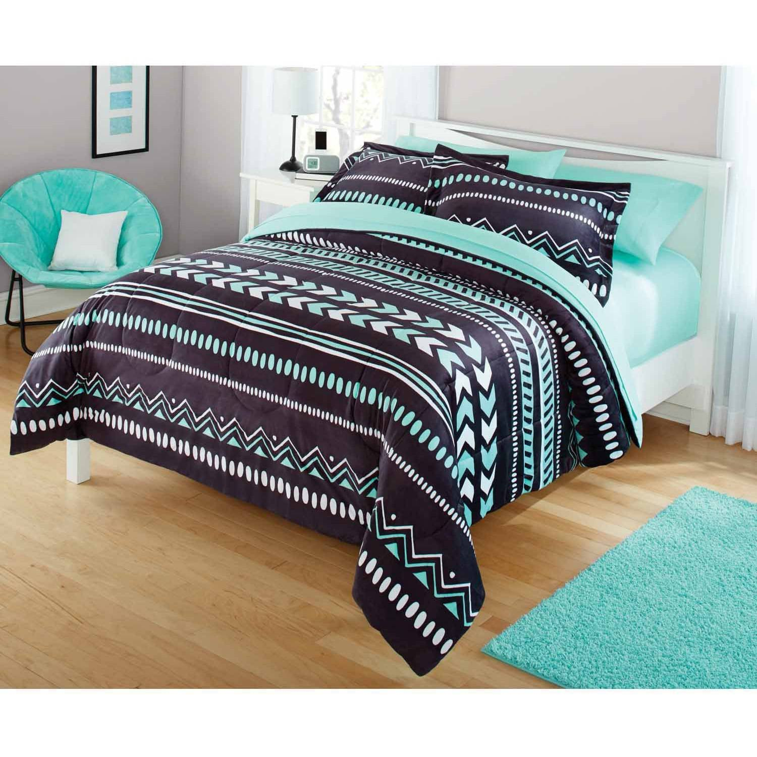 Best Your Zone Mink Rainbow Zebra Bedding Comforter Set With Pictures