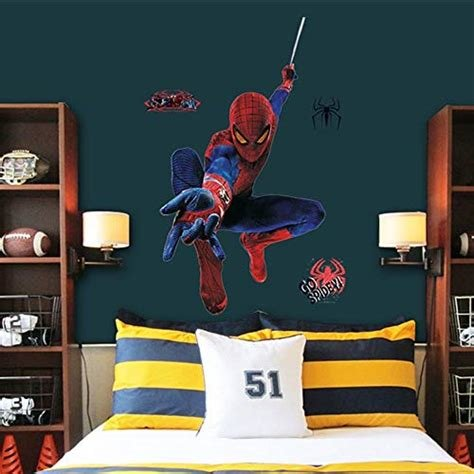 Best Spiderman Bedroom Decor Amazon Com With Pictures