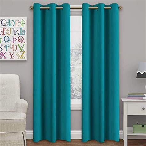 Best Teal Curtain Panels Amazon Com With Pictures