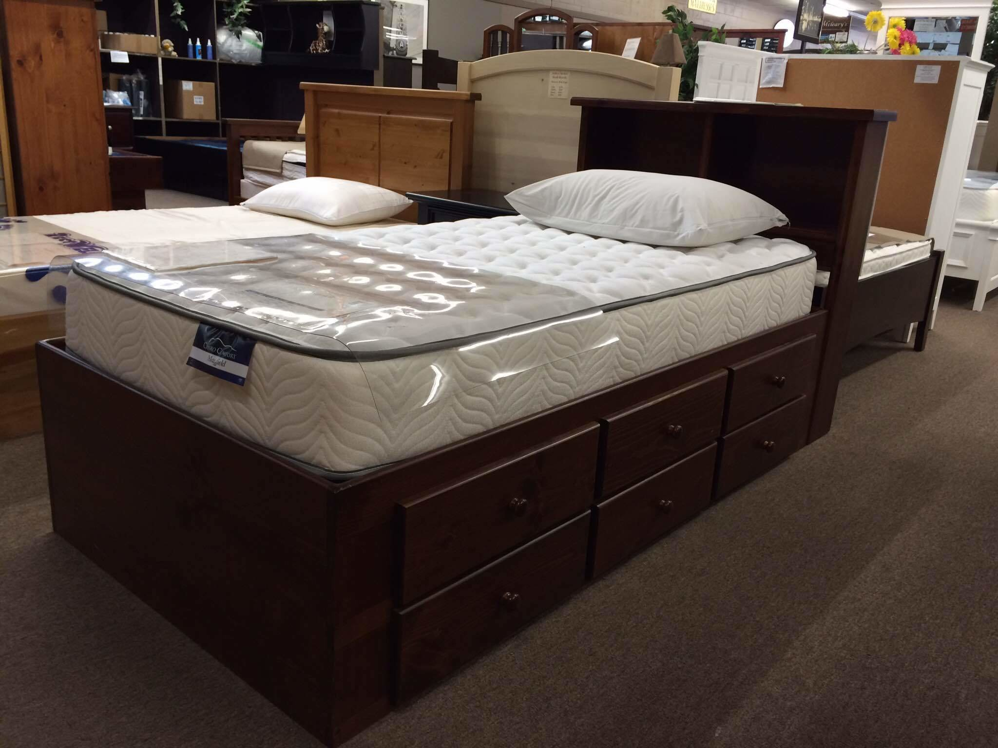 Best Captains Bed Furniture Mattress Store Langley Bc White Rock Surrey With Pictures