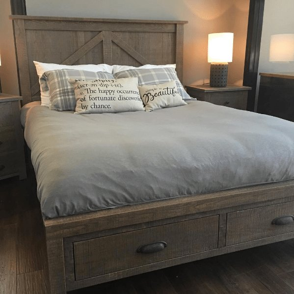 Best Farmhouse Bedroom Suite Woodworks Dealer Mcleary S With Pictures