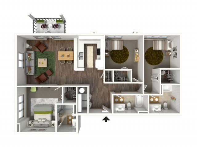 Best 1 Bedroom Apartments For Rent In Baton Rouge Bayonne At With Pictures