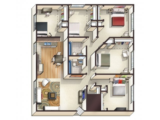 Best 1 5 Bed Apartments College Station Apartments Llc With Pictures