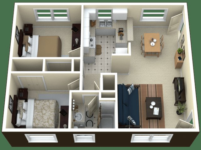 Best 2 Bed 1 Bath Apartment In Royal Oak Mi Arlington With Pictures