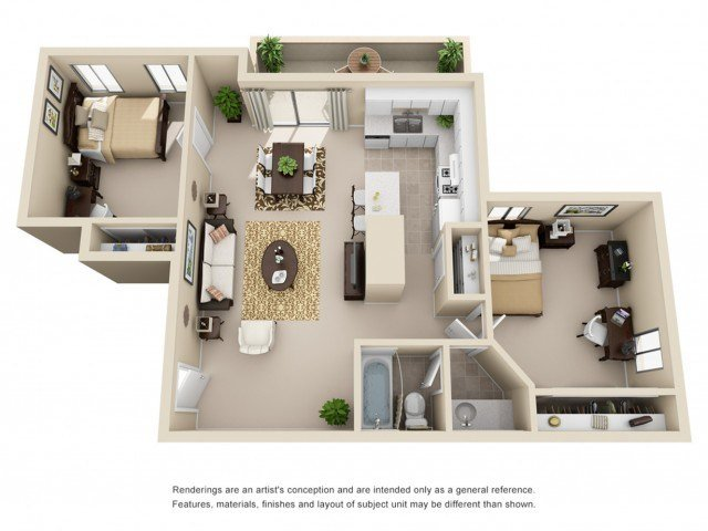 Best 2 Bed 1 Bath Apartment In Riverside Ca Campus With Pictures