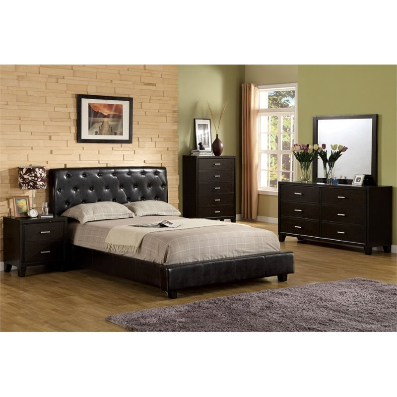 Best Furniture Of America Naylor 4 Piece King Bedroom Set In With Pictures